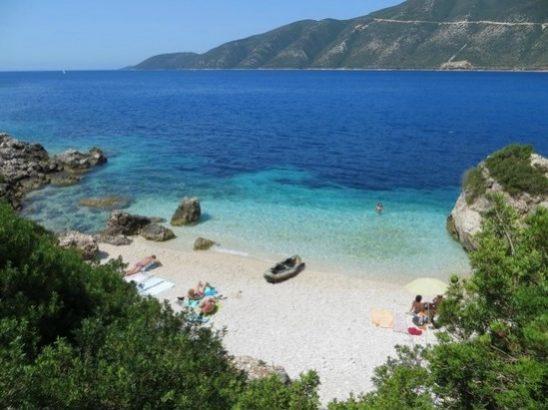 Praia da Baía de Vassiliki