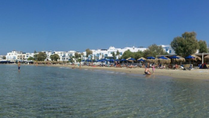 Praia de Agios Georgios