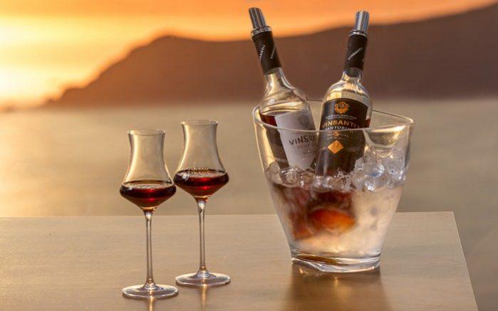 vinhos santorini