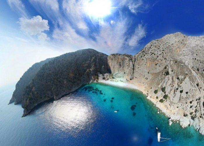 agios georgios dysalonas praia