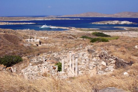 ilha delos