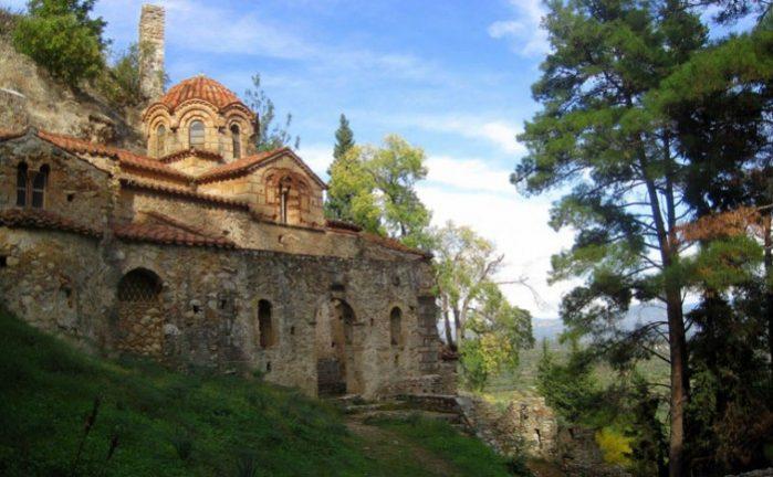 grecia castelo mystras