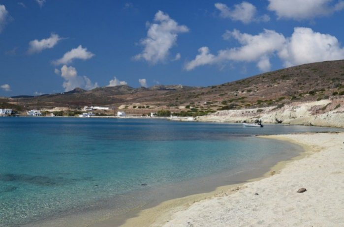 grecia kimolos prasa praia