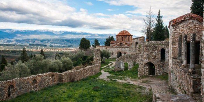 grecia mystras