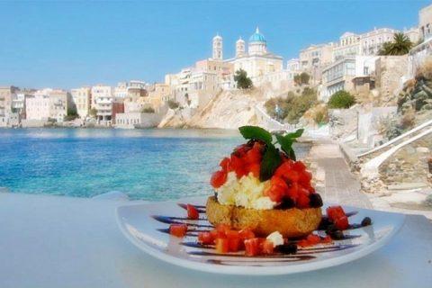 syros pratos locais