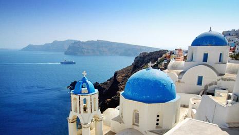 A escolha da Grécia e suas Ilhas