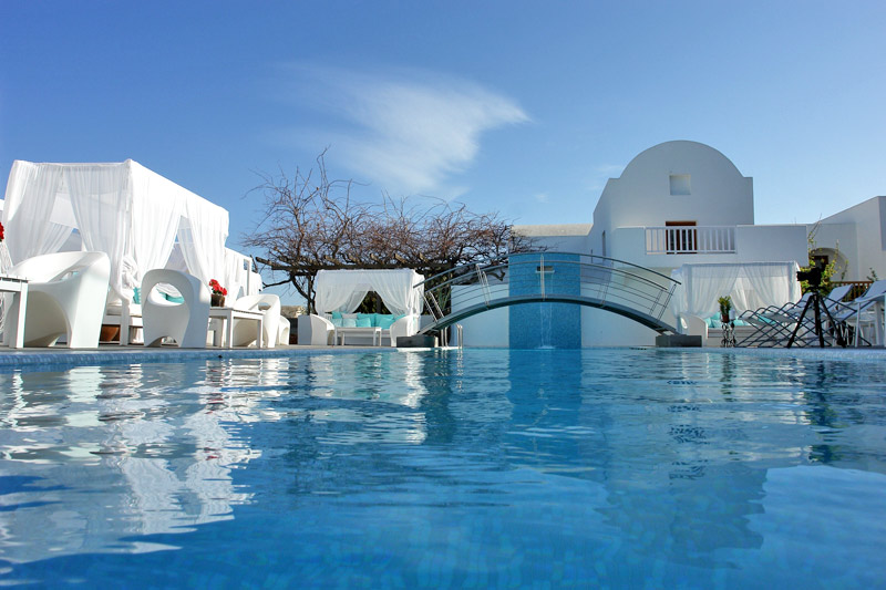 Most hotels on Santorini are gay- friendly