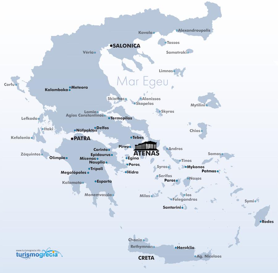 mapa da grecia Mapa Grécia | Mapa da Grécia | Grécia Mapa mapa da grecia